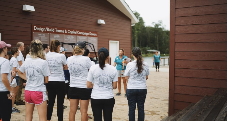 Day of Caring: WST Lends a Hand to JT's Camp Grom